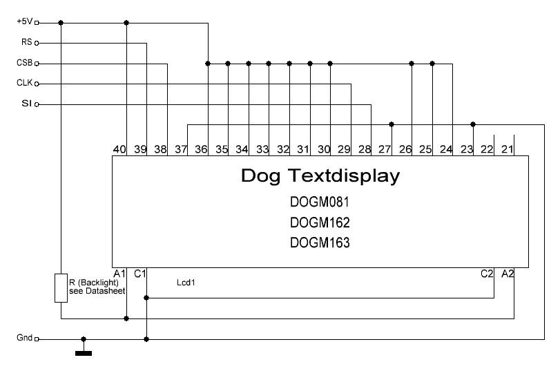 arduino库字符型lcd的狗
